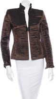 Akris Metallic Paneled Jacket