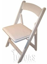 Classic Vinyl Folding Chair Midas Event Supply Color: Natural/ Tan