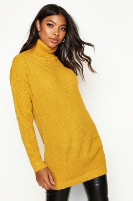 boohoo Tall Roll Neck Sweater