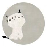 Un tapis é Paris x Baby Alpaga Cat Rug 120cm