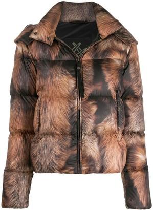 Mr & Mrs Italy Zipped Padded Jacket