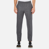 Carven Elastic Waist Trousers Gris Chine