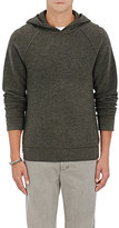 James Perse Men's Cashmere Thermal Hoodie-GREY
