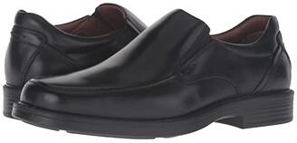 Johnston & Murphy Waterproof XC4 Stanton Moc Toe Slip-On (Black Waterproof Calfskin) Men's Slip-on Dress Shoes