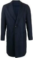 Etro Chevron Single-Breasted Coat
