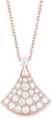 Bvlgari Rose Gold Divas' Dream Necklace