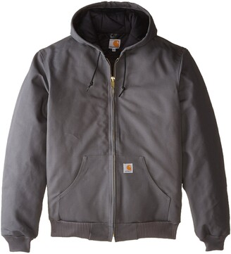 Carhartt Men's Big & Tall Quilted Flannel Lined Duck Active Jacket J140