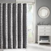 "Madison Park Carlow Jacquard Shower Curtain - Gray/72"" x 72"""