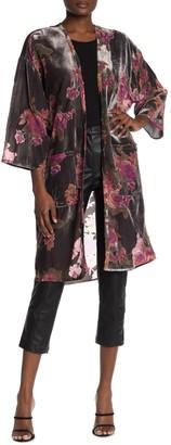 Dress Forum Rosie Velvet Burnout Kimono