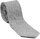 Isaac Mizrahi Light Gray Linen Tie