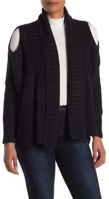 AllSaints Able Open Shoulder Cardigan