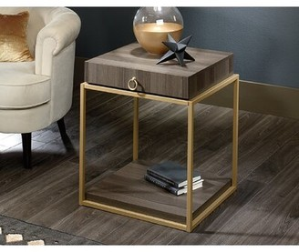 Everly Quinn Culley End Table with Storage