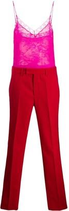 Philosophy di Lorenzo Serafini lace embellished jumpsuit