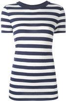 MICHAEL Michael Kors striped T-shirt - women - Spandex/Elastane/Viscose - XS