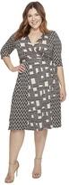 Kiyonna In the Mix Wrap Dress Women's Dress