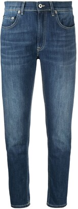 Dondup Mid-Rise Slim-Fit Jeans
