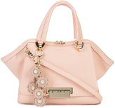 Zac Posen flower embellished tag tote - women - Calf Leather/metal - One Size