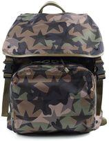 Valentino Garavani Backpack Nylon Stars