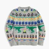 J.Crew Boys' Fun Isle crewneck sweater