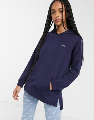 Lacoste hoodie in blue