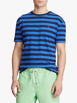 Ralph Lauren Polo Custom Slim Fit Short Sleeve Striped T-Shirt