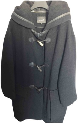 Isabel Marant Black Wool Coat for Women