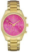 Caravelle New York by Bulova Women's Crystal Stainless Steel Chronograph Watch - 44L168K