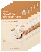The Face Shop Real Nature Shea Butter Face Mask - Moisturizing (5 PK)