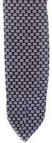 Black Fleece Intarsia Knit Tie w/ Tags