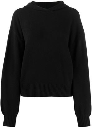 Pringle Hooded Long-Sleeve Jumper