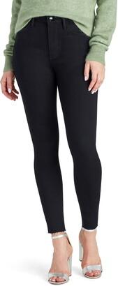 Sam Edelman Stiletto High Waist Fray Hem Ankle Jeans