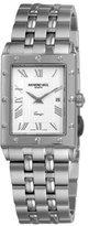 Raymond Weil Men's 5381-ST-00658 Tango White Rectangular Dial Watch