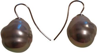Philippe Ferrandis Grey Pearls Earrings