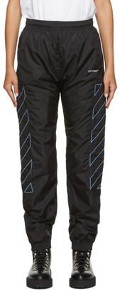 Off-White Black Diag Lounge Pants