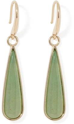 Forever New Sherry Teardrop Earrings - JADE STONE - 00