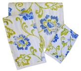 "Waverly Refresh Printed Hand Towel Blue/Green (16""x28"")"