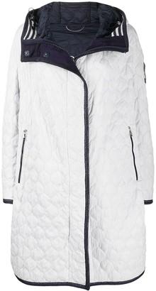 Ermanno Scervino Embellished Quilted Raincoat