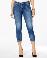 KUT from the Kloth Petite Lauren Straight-Leg Cropped Jeans