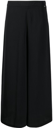 Liu Jo Low-Waist Flared Trousers