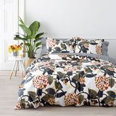 Marimekko Ritva Duvet Cover Set in Navy Blue