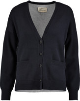 Current/Elliott The Color Block wool and cotton-blend cardigan