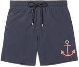 Vilebrequin Motu Mid-Length Embroidered Swim Shorts