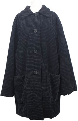 Krizia Black Coat for Women Vintage