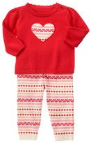 Gymboree Red Zone Fair Isle Sweater & Leggings - Infant