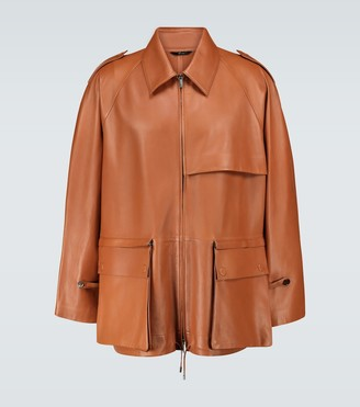 Fendi Blouson leather jacket