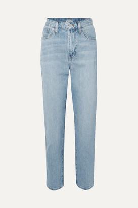 Madewell The Curvy Perfect Vintage High-rise Straight-leg Jeans - Light denim