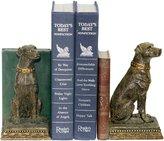 Sterling Home 91-2629 Pair of Bookends, Chocolate Labrador Retriever, Tall