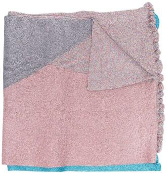 M Missoni Colour-Block Print Scarf