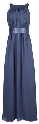 Dorothy Perkins Womens **Showcase Dark Grey 'Emily' Bridesmaid Maxi Dress, Grey
