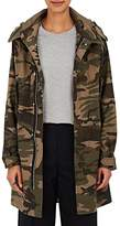 VIS A VIS Women's Camouflage Cotton-Blend Hooded Parka